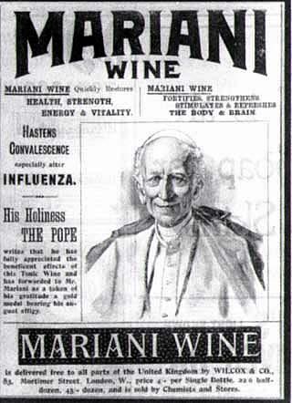 Coca Mariani wine