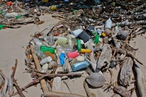 Trash beach