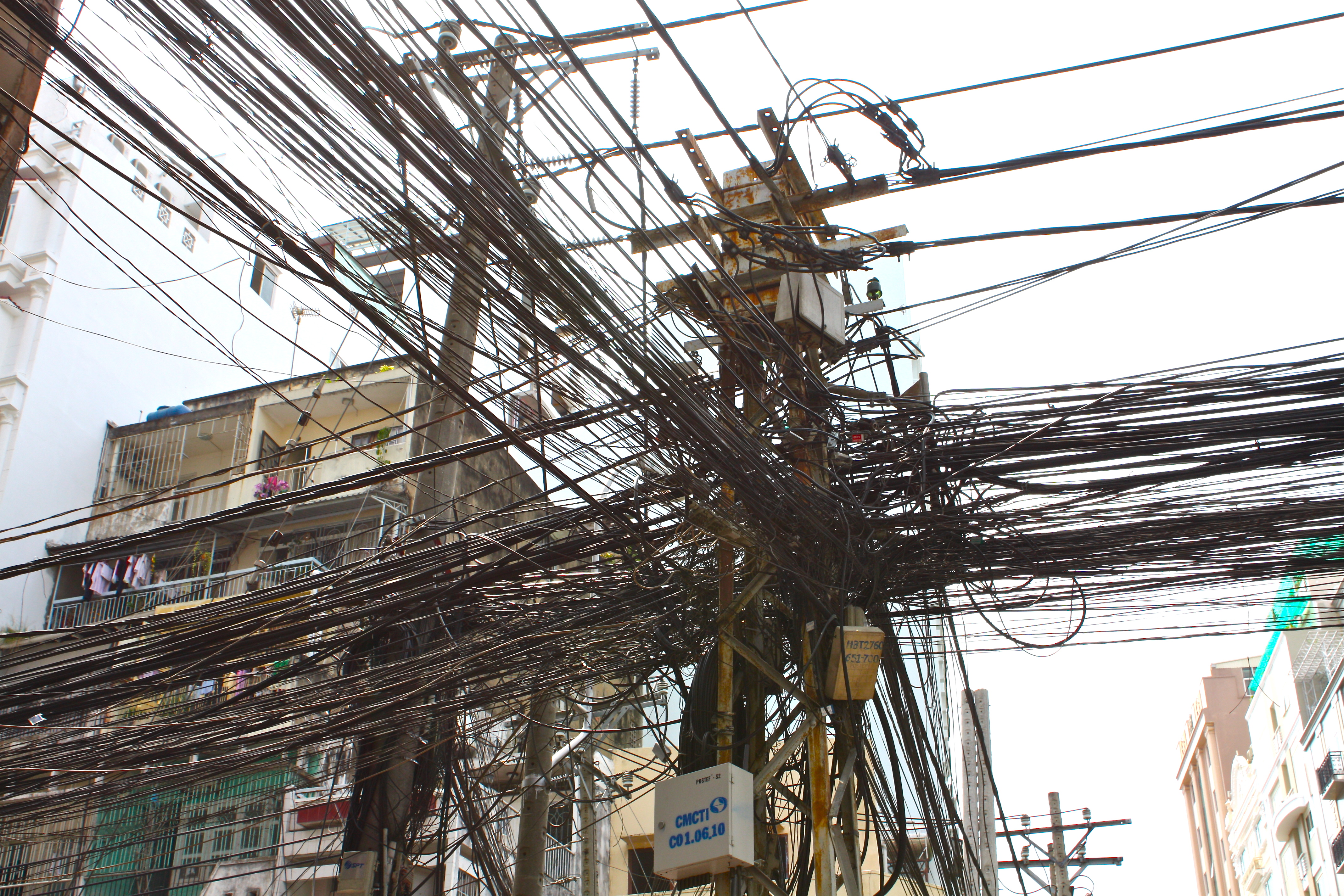 Power Lines in India