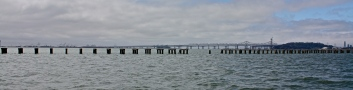 Bay Bridge and Old Dock