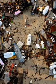 Talc trash, Gabon