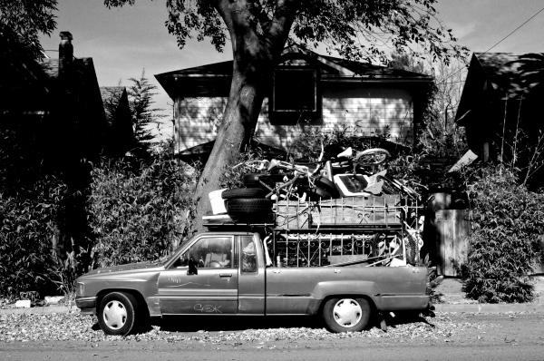 Loaded truck - Berkeley, CA