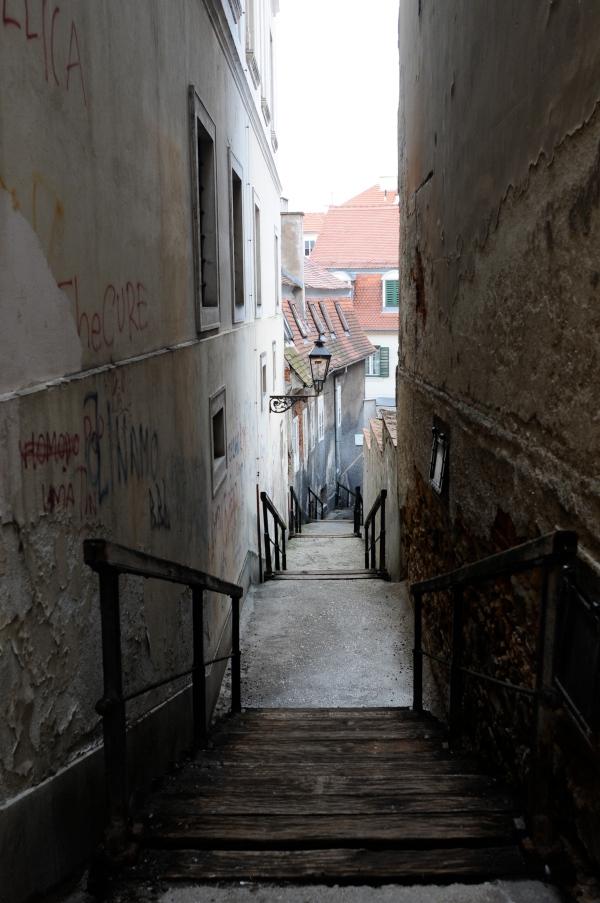 Staircase, Zagreb, Croatia
