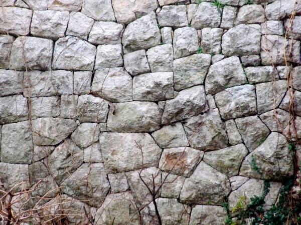 stone masonry, wall, montenegro