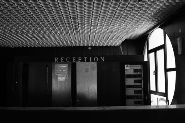 Abandoned hotel, KRALJICINA, recption, montenegro