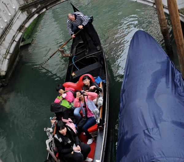 the gondola, Venice, Italy
