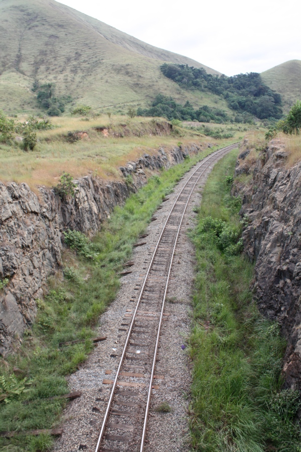 Railroad tracks, Gabon