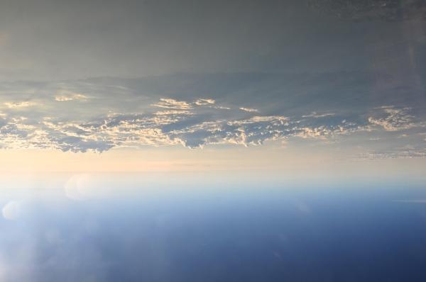 clouds ocean